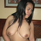 Filipina whore gets fucked in ass and pussy then swallows cums